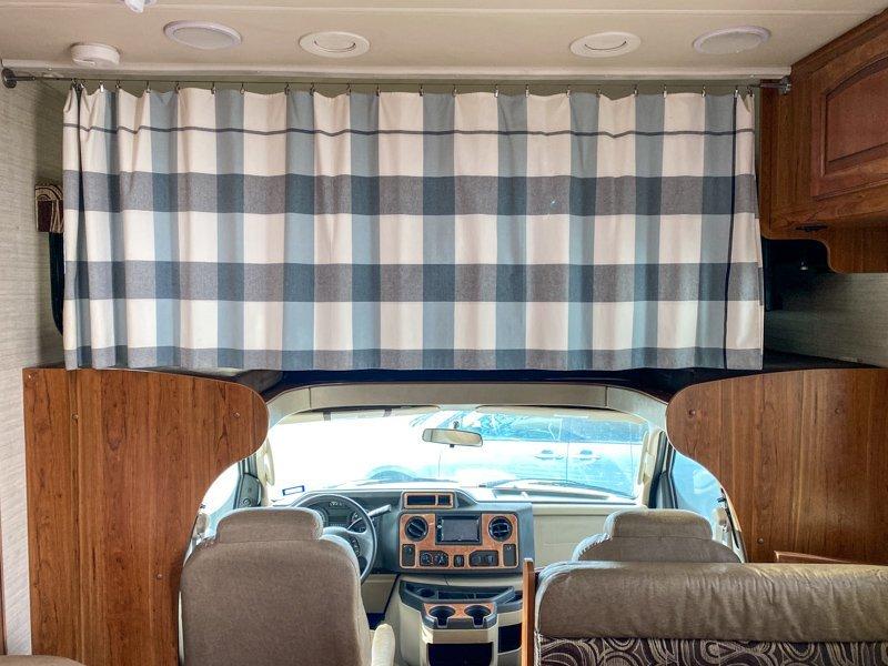 Camper bunk bed ideas - bunk over cab class C