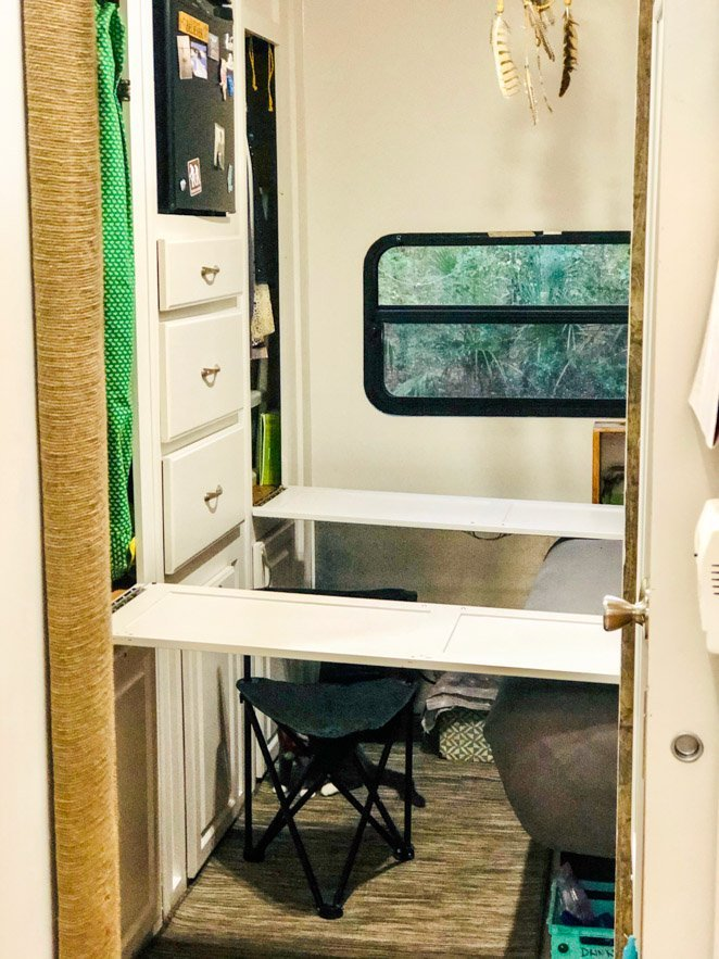 RV office ideas a great RV desk