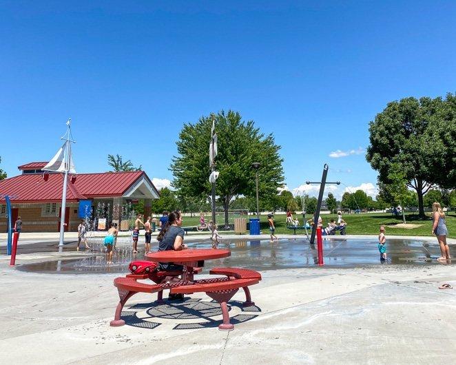 Settlers Park Splash Pad