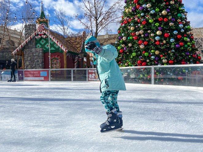 The Village Ice Skating