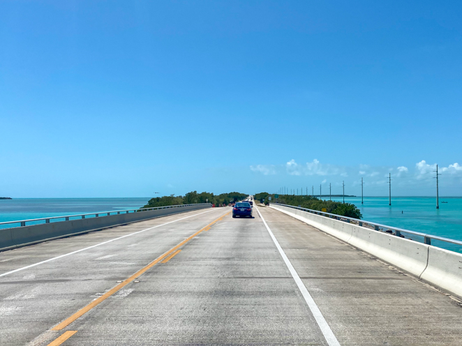 Seven Mile Bridge Florida Keys Road Trip