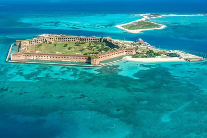 Dry Tortugas National Park In Florida Keys
