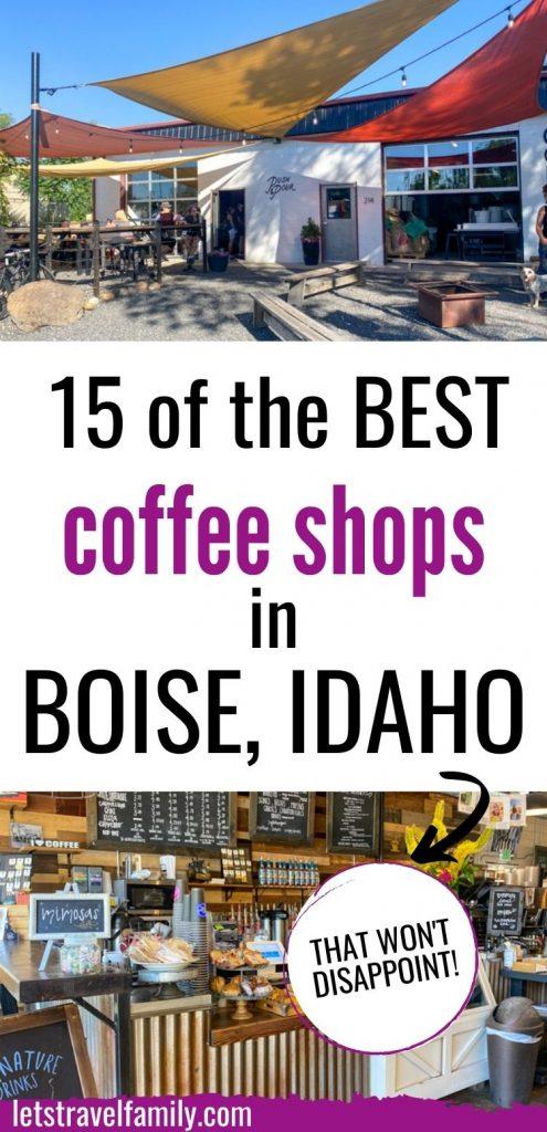 Best coffee shops boise Idaho