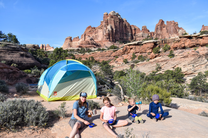 Camping in a tent more affordable