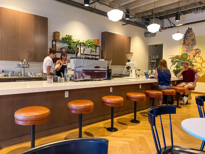 Coffee in Boise Neckar