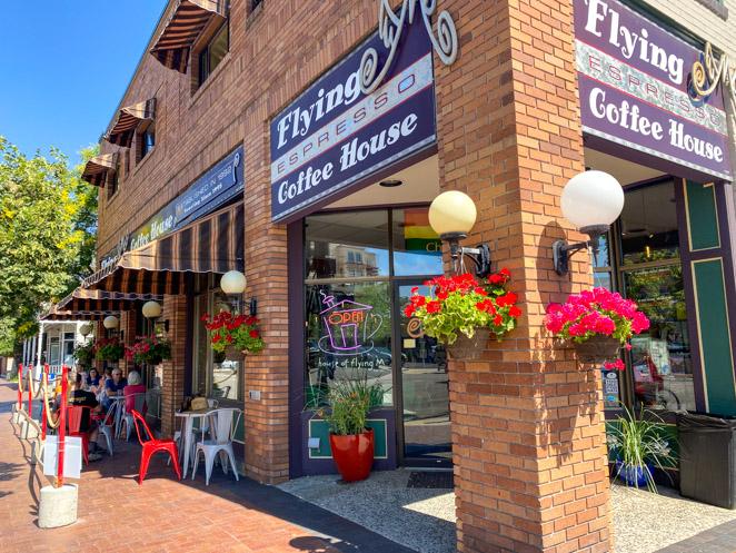 Flying M Coffee House Boise Idaho