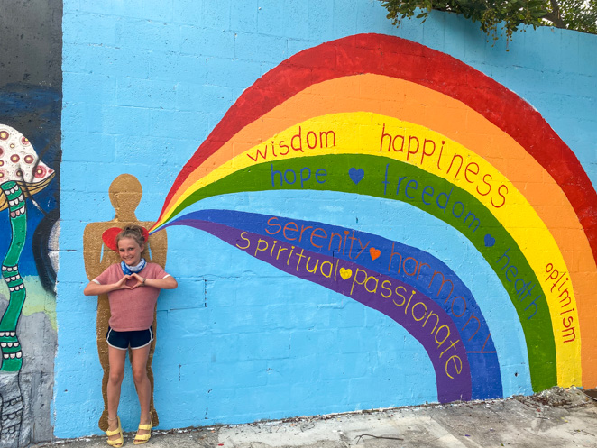 Fort Lauderdale with kids murals_