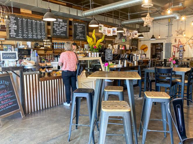 Hyde Perk Coffee Shop Boise Idaho