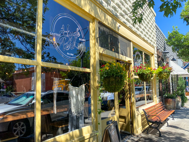 Hyde Perk Coffee Shop Boise