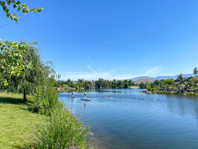 Boise Cascade Lake Loop near Esther Simplot Park Boise