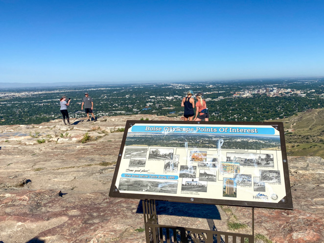 Fun Boise Hikes for families