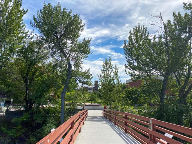 Greenbelt Hiking in Boise