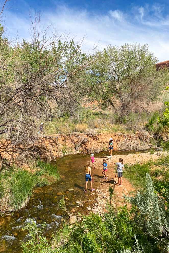 Mill Creek Trail with kids
