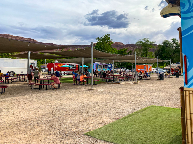 Moab Food Truck Park Where to Eat In Moab