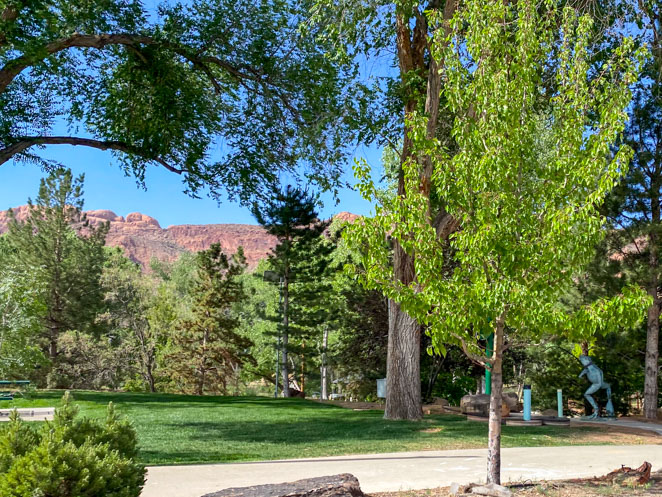 Rotary Park Moab with kids