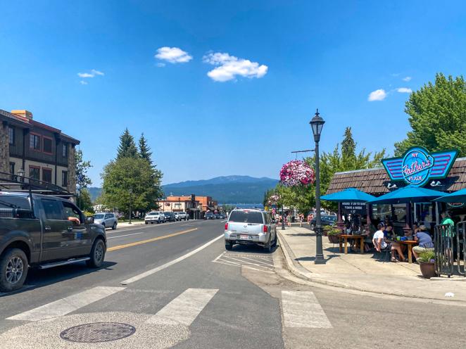 Downtown McCall Idaho