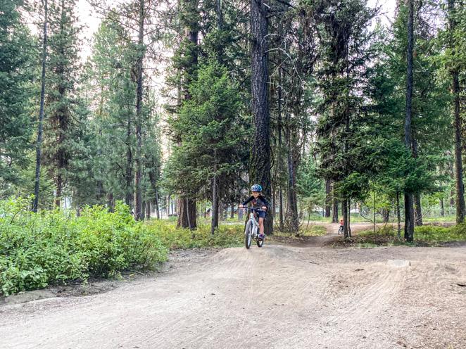 Mountain Biking in McCall Idaho_