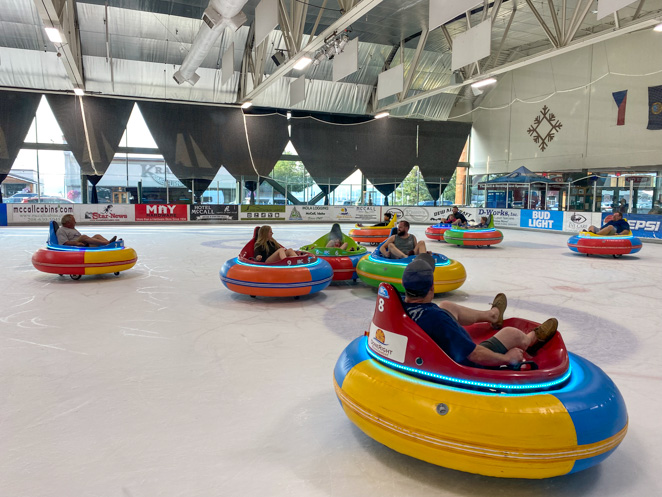 Things to do in McCall ID - Bumper cars on ice